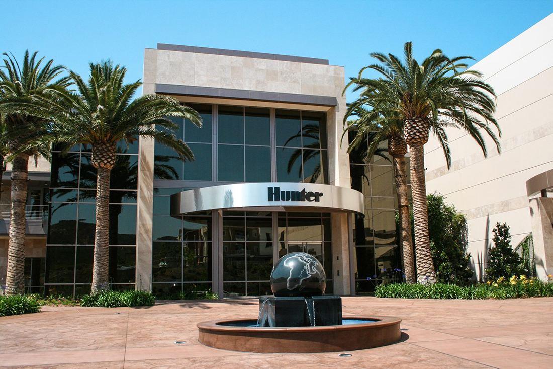 دفتر اصلی شرکت هانتر در شهر San Marcos کالیفرنیا