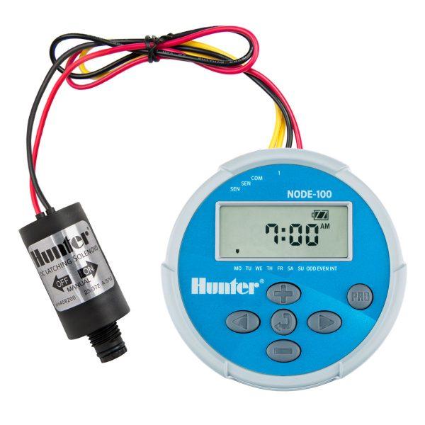 کنترلر آبیاری هانتر آمریکا مدل Node 100 همراه با سولنوئید
