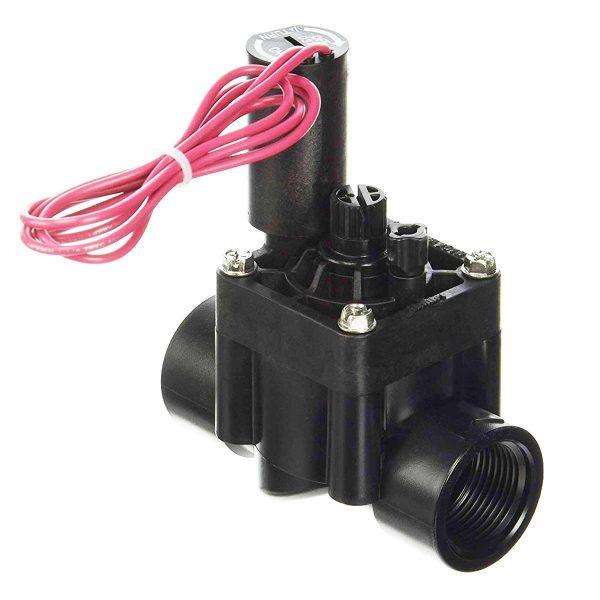 شیر برقی هانتر 1 اینچ دارای پیچ کنترل جریان سری PGV دید مایل