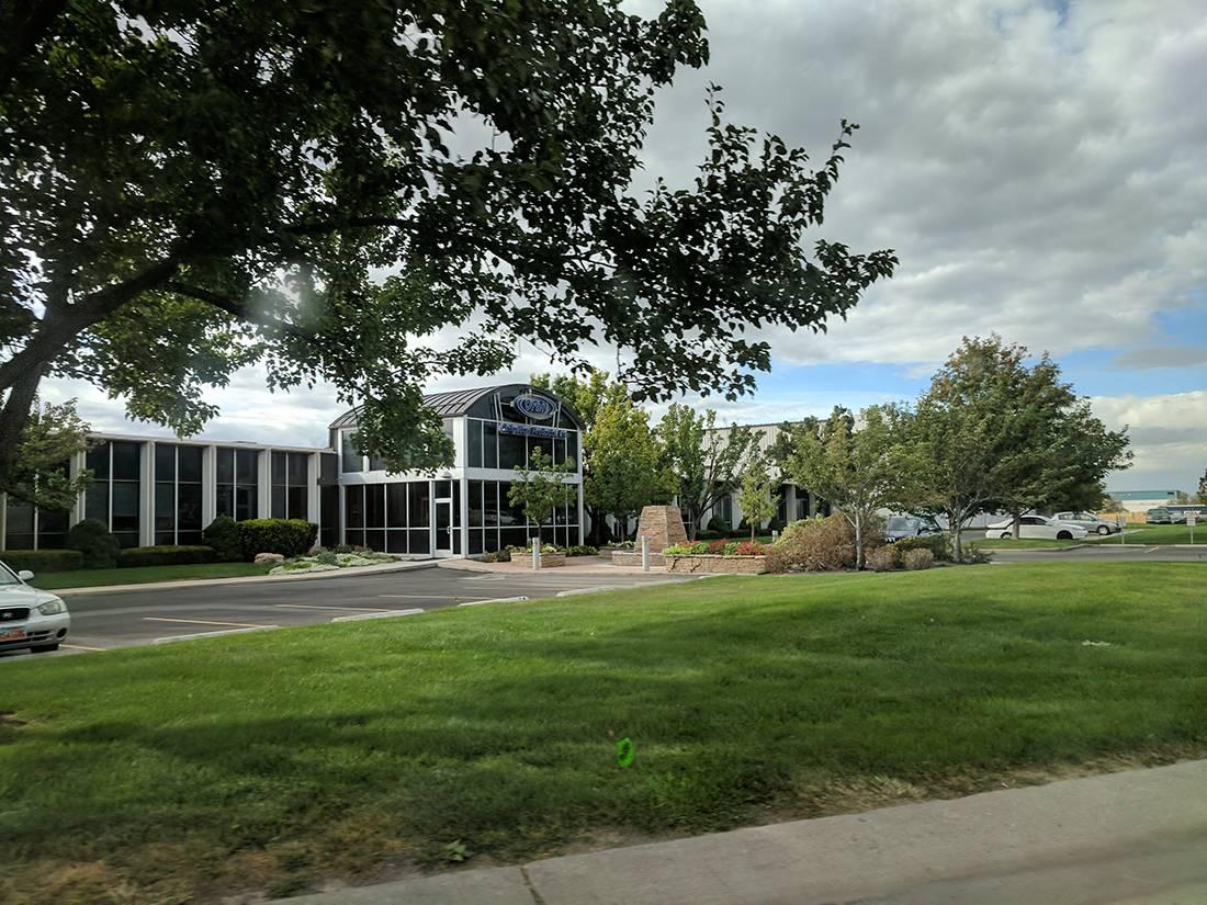 دفتر اصلی شرکت اوربیت در شهر Bountiful ایالت Utah آمریکا