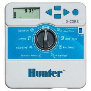 کنترلر آبیاری هانتر آمریکا 4 ایستگاهه سری X-Core