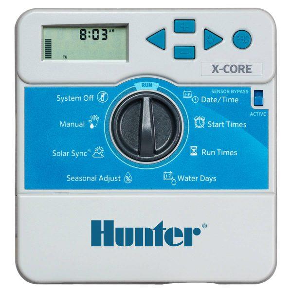 کنترلر آبیاری هانتر آمریکا 6 ایستگاهه سری X-Core
