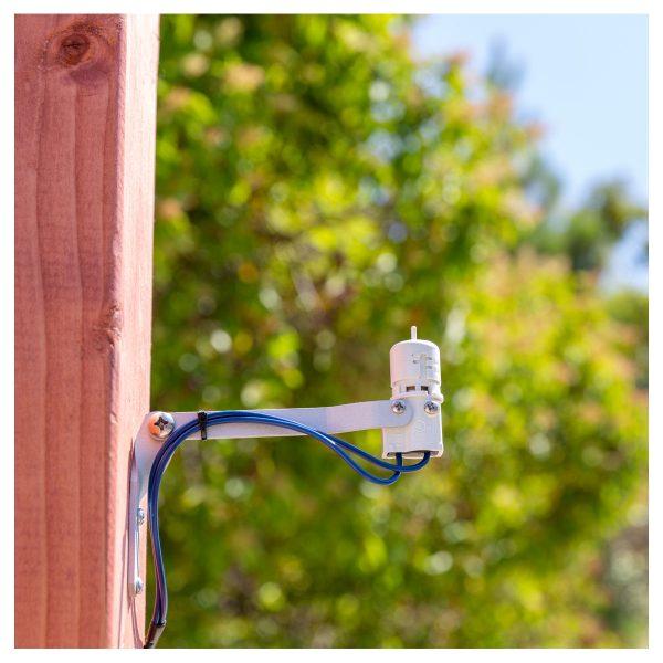 سنسور باران هانتر آمریکا مدل Mini-Clik نصب شده